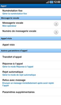 Samsung P1000 Galaxy Tab - Messagerie vocale - Configuration manuelle - Étape 8
