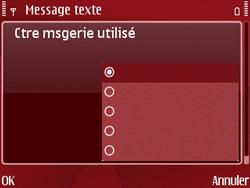 Nokia E63 - SMS - Configuration manuelle - Étape 11