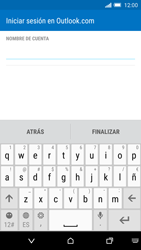 HTC One M9 - E-mail - Configurar Outlook.com - Paso 9