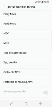 Samsung Galaxy S8 - MMS - Como configurar MMS -  11