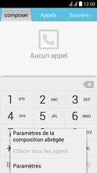 Huawei Ascend Y625 - Messagerie vocale - Configuration manuelle - Étape 4