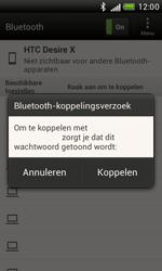 HTC T328e Desire X - Bluetooth - koppelen met ander apparaat - Stap 10