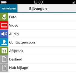 BlackBerry Classic - E-mail - Hoe te versturen - Stap 13
