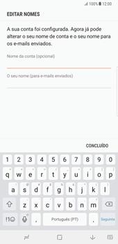 Samsung Galaxy Note 8 - Email - Configurar a conta de Email -  16