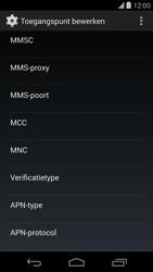 LG D821 Google Nexus 5 - Internet - handmatig instellen - Stap 12