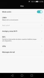 Huawei P8 - Funciones básicas - Activar o desactivar el modo avión - Paso 5