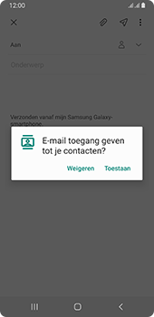 Samsung galaxy-a8-2018-sm-a530f-android-pie - E-mail - Hoe te versturen - Stap 6