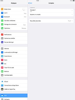 Apple iPad Pro 12.9 (1st gen) - iOS 10 - E-mail - Configuration manuelle - Étape 17