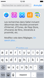 Apple iPhone 5 iOS 9 - Internet - Navigation sur internet - Étape 3