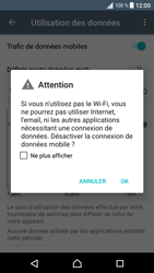 Sony Sony Xperia XA - Internet et connexion - Désactiver la connexion Internet - Étape 6