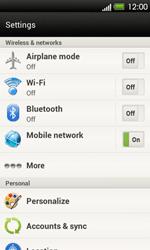 HTC T320e One V - Internet - Usage across the border - Step 4
