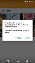 Sony Xperia XA1 - Bluetooth - Transferir archivos a través de Bluetooth - Paso 13