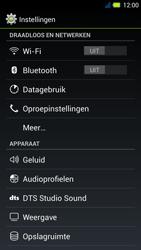 Acer Liquid E3 - Internet - Aan- of uitzetten - Stap 4