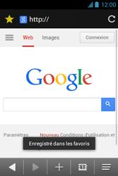 Bouygues Telecom Bs 351 - Internet et connexion - Naviguer sur internet - Étape 9