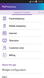 Samsung Galaxy A3 (2016) - Applications - MyProximus - Step 24