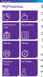 Nokia Lumia 830 - Applications - MyProximus - Step 20