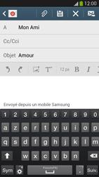 Samsung I9505 Galaxy S IV LTE - E-mail - envoyer un e-mail - Étape 8