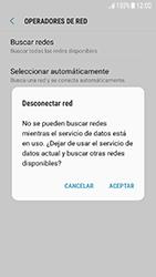 Samsung Galaxy J5 (2017) - Red - Seleccionar una red - Paso 8