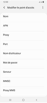 Samsung Galaxy A40 - Internet - configuration manuelle - Étape 13