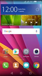Huawei Y5 II - Internet no telemóvel - Como ativar os dados móveis -  2