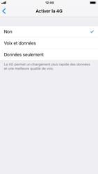 Apple iPhone 6 - iOS 12 - Réseau - Changer mode réseau - Étape 7