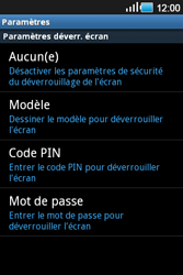Samsung Galaxy Ace - Sécuriser votre mobile - Activer le code de verrouillage - Étape 11