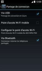 Bouygues Telecom Bs 403 - Internet et connexion - Utiliser le mode modem par USB - Étape 8