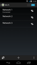 Acer Liquid Z500 - WiFi and Bluetooth - Manual configuration - Step 8