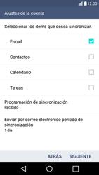 LG K10 4G - E-mail - Configurar Outlook.com - Paso 9