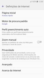 Samsung Galaxy S6 Android M - Internet no telemóvel - Configurar ligação à internet -  23
