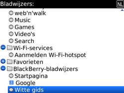 BlackBerry 9700 Bold - Internet - Hoe te internetten - Stap 10