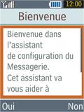 Samsung B2100 Xplorer - E-mail - Configuration manuelle - Étape 10