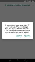 Huawei P9 Lite - Android Nougat - Aplicações - Como configurar o WhatsApp -  13