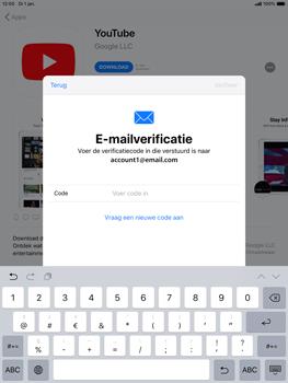 Apple ipad-mini-5-7-9-inch-2019-model-a2124 - Applicaties - Account aanmaken - Stap 23