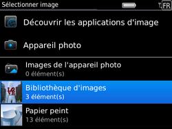 BlackBerry 9780 Bold - E-mail - Envoi d