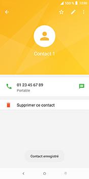 Alcatel 3L - Contact, Appels, SMS/MMS - Ajouter un contact - Étape 7