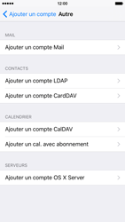 Apple iPhone 6 iOS 9 - E-mail - Configuration manuelle - Étape 7