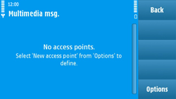 Nokia N97 - MMS - Manual configuration - Step 7