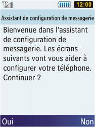 Samsung C3350 Xcover 2 - E-mail - Configuration manuelle - Étape 10