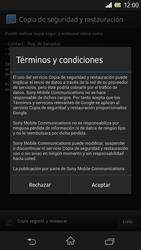 Sony Xperia Z - Primeros pasos - Activar el equipo - Paso 40