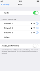 Apple iPhone 6s - iOS 12 - Wi-Fi - Connect to Wi-Fi network - Step 5