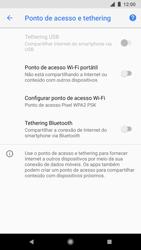Google Pixel 2 - Wi-Fi - Como usar seu aparelho como um roteador de rede wi-fi - Etapa 6