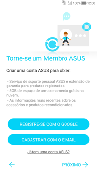 Asus Zenfone Selfie - Primeiros passos - Como ativar seu aparelho - Etapa 20