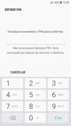 Samsung Galaxy S7 - Android Nougat - Segurança - Como ativar o código de bloqueio do ecrã -  9