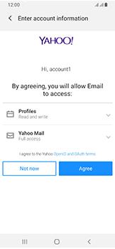 Samsung Galaxy A40 - E-mail - Manual configuration (yahoo) - Step 9