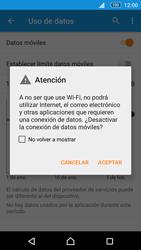 Sony Xperia M5 (E5603) - Internet - Activar o desactivar la conexión de datos - Paso 6