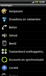 HTC A7272 Desire Z - Voicemail - Handmatig instellen - Stap 4