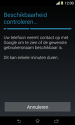 Sony D2005 Xperia E1 - Applicaties - Account aanmaken - Stap 10
