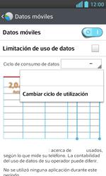 LG Optimus L5 II - Internet - Ver uso de datos - Paso 6