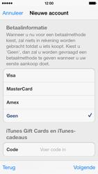 Apple iPhone 5c - Applicaties - Account aanmaken - Stap 18